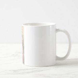 Hishida Shunso著猫およびプラム花 コーヒーマグカップ