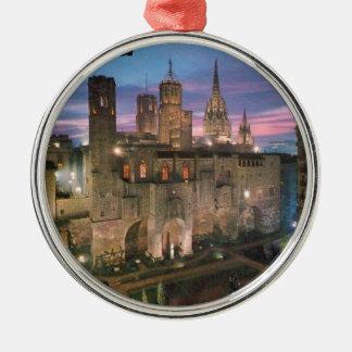 historia --バルセロナ--バリオ--goticoアンジー メタルオーナメント