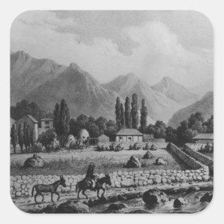 「Historia deチリ」からのGuanta、1854年 スクエアシール