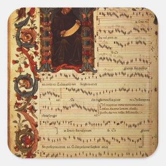 historiatedの音符のページ スクエアシール