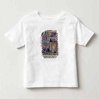 Historiatedはコンラッドを描写する「C」にIII署名します トドラーTシャツ