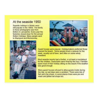 History海岸の1950年 ポストカード