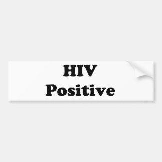 HIV感染 バンパーステッカー