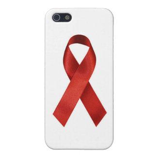 HIV/AIDSのリボン iPhone SE/5/5sケース