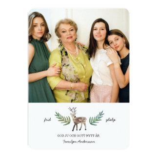 Hjortar Julkort カード