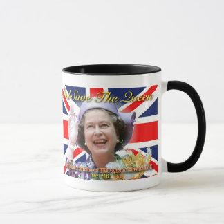 HMエリザベス女王二世の60周年記念 マグカップ