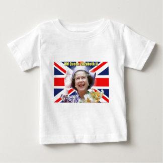HMエリザベス女王二世 ベビーTシャツ