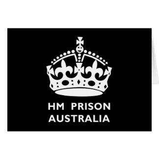 HM刑務所オーストラリア カード