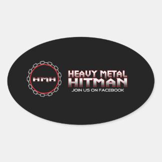 HMHのステッカー 楕円形シール