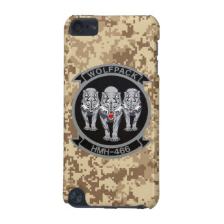 """HMH-466 """"Wolfpack""""の海洋の迷彩柄 iPod Touch 5G ケース"""