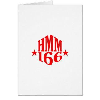 HMM-166はDuogramを主演します カード