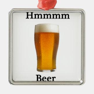 Hmmmmmビール メタルオーナメント