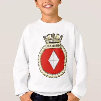 HMSのダイヤモンド スウェットシャツ