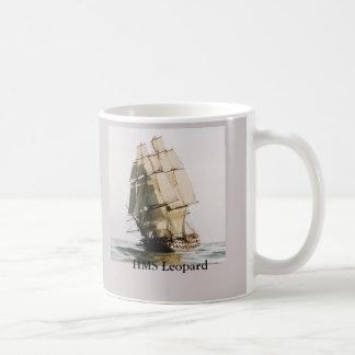 HMSのヒョウの軍艦 コーヒーマグカップ