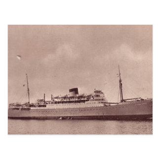 HMSのユニコーン ポストカード
