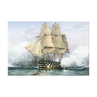 HMSの勝利のキャンバスのプリント キャンバスプリント