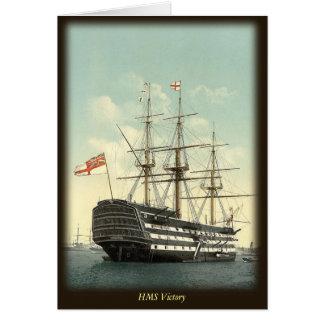 HMSの勝利のメッセージカード カード