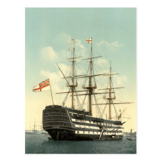 HMSの勝利ポーツマス1900年 ポストカード