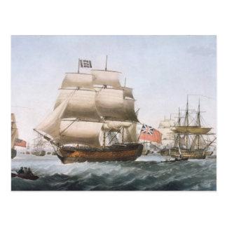 HMSの勝利1806年 ポストカード