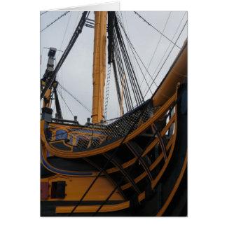 HMSの勝利-ポーツマス-イギリス-ネルソン--の軍艦 カード