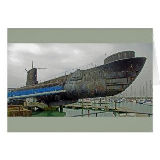 HMSの同盟の潜水艦 カード