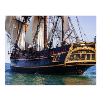 HMSの奨励金の高い船 ポストカード