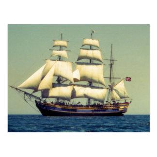 HMSの奨励金 ポストカード