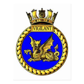 HMSの用心深い頂上 ポストカード