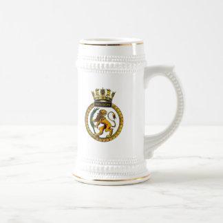 HMSネルソンのバッジ ビールジョッキ
