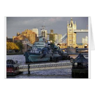 HMSベルファスト カード
