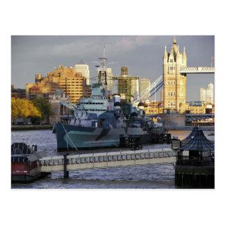 HMSベルファスト ポストカード