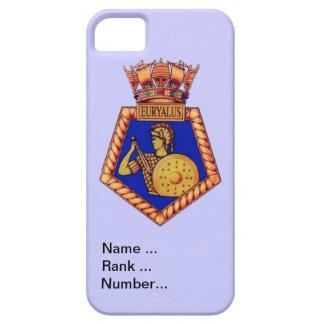 HMS Euralyus、名前、ランクおよび数のバッジ iPhone SE/5/5s ケース