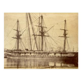 HMS Scylla - 19世紀で王室のな海軍軍艦 ポストカード