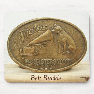 HMVの勝利者、ベルトの留め金 マウスパッド
