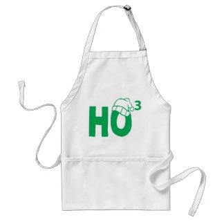 Ho -立方体にされた(Ho Ho Ho)クリスマスのエプロン スタンダードエプロン