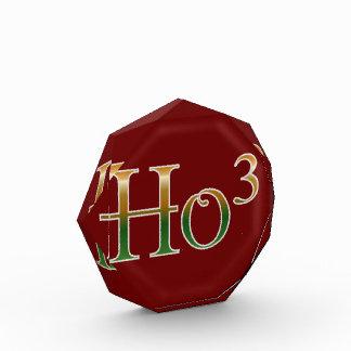 Ho ho hoか。 表彰盾
