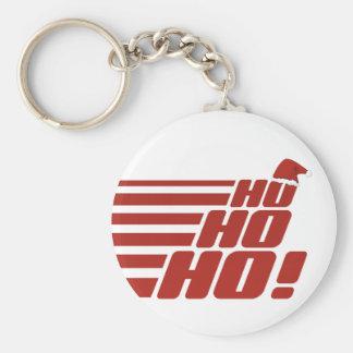 Ho Ho Hoカスタムなクリスマスのキーホルダー キーホルダー