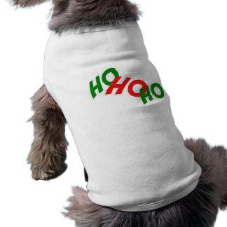 Ho Ho Ho犬のワイシャツ ペット服