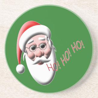 Ho! Ho! Ho! サンタクロースのクリスマスのコースター コースター