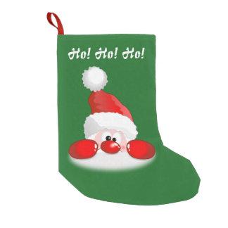 Ho! Ho! Ho! サンタ スモールクリスマスストッキング