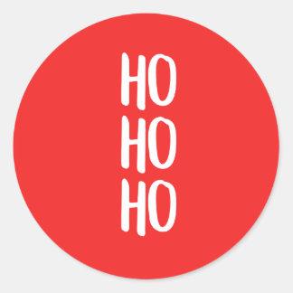 ho ho ho! ラウンドシール