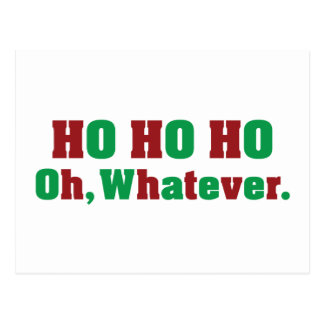 Ho Ho Ho Ohものは何でも ポストカード