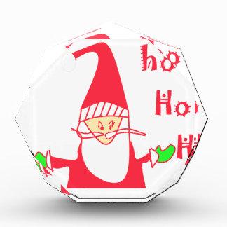 Ho Ho Ho Santa.pngからのメリークリスマス 表彰盾