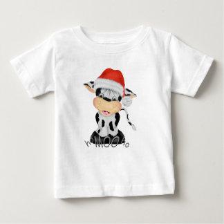 Ho MOOのHoクリスマスのTシャツ ベビーTシャツ