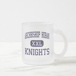 Hoban -騎士大主教-高アクロンオハイオ州 フロストグラスマグカップ
