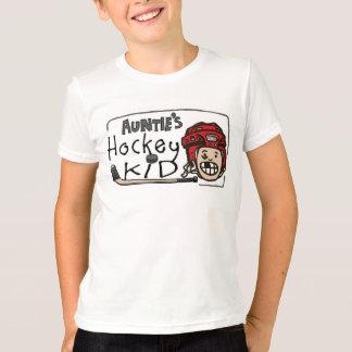 Hockey Kid伯母さんの Tシャツ