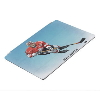 Hockey Player Design iPad Cover iPad Proカバー