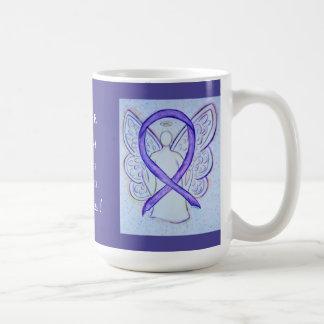 Hodgkinsのリンパ腫の病気の認識度のリボンのマグ コーヒーマグカップ