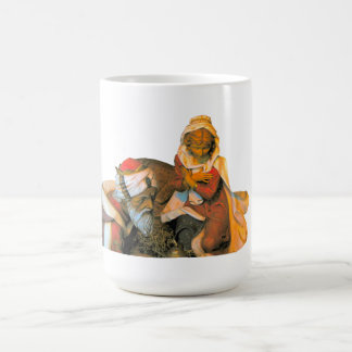 Hodie Christus Natus米国東部標準時刻 コーヒーマグカップ