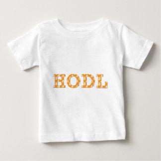 Hodl Bitcoin ベビーTシャツ